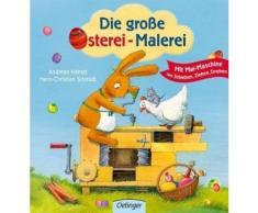 Buch mit Papp-Einband »Die große Osterei-Malerei«