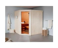 HELO FAMILY Sauna »Kivi 3«, mit Infrarot, 194/194/200 cm, 8-kW-Ofen mit ext. Steuerung