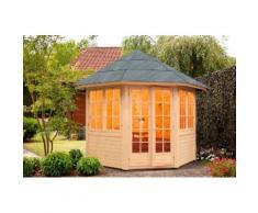 WOLFF FINNHAUS Holzpavillon »Palma«, BxT: 347x347 cm