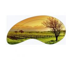 Artland Wandbild »Landschaften Felder Fotografie Orange«