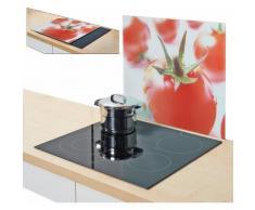 Zeller Present Herdblende-/Abdeckplatte »Tomate«, 56 x 50 cm