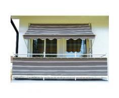 Balkonsichtschutz »Polyacryl, anthrazit« in 2 Höhen