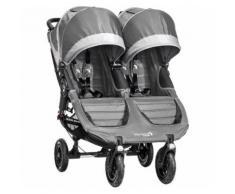 Baby Jogger Zwillings- und Geschwisterwagen City Mini GT Double, steel/