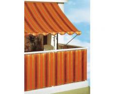 Balkonsichtschutz »Polyethylen, orange/braun« in 2 Höhen