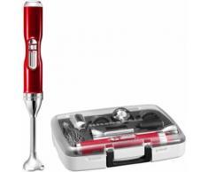 KitchenAid kabelloser Akku-Stabmixer mit Zubehörbox Artisan 5KHB3581ECA, 180 Watt, 5 Stufen