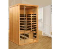 Helo Family Infrarotkabine »Tana Transparent«, 120/105/200 cm, 40 mm, für bis zu 2 Personen