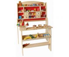 Beluga Kaufladen aus Holz mit Ladentheke