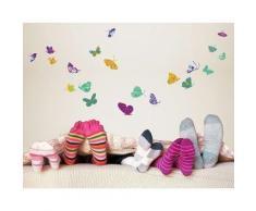 Bilderwelten Wandtattoo »No.RS74 Bunte Schmetterlinge«