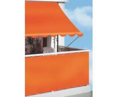 Balkonsichtschutz »Polyethylen, uni orange« in 2 Höhen