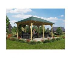 Karibu Holzpavillon »Mailand«, BxT: 289x429 cm