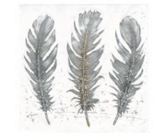 Eurographics Handgemaltes Ölgemälde »Feathers in November«, 80/80 cm
