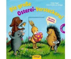 Buch mit Papp-Einband »Die große Osterei-Versteckerei«