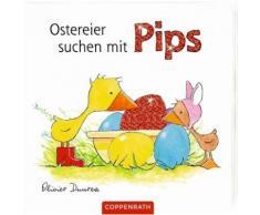 Buch mit Papp-Einband »Ostereier suchen mit Pips«