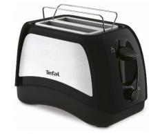 Tefal Toaster TT131D Delfini Plus, 2 für Scheiben, 850 Watt, schwarz-edelstahl