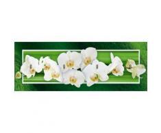 Artland Schlüsselbrett »Botanik Blumen Orchidee Digitale Kunst Grün«