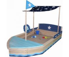 Sun Sandkasten aus Holz, »Sternen-Schiff«