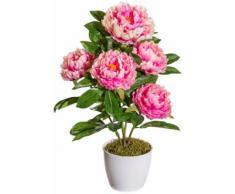 Kunstpflanze »Peonie«, im Keramiktopf, Höhe 45 cm, pink