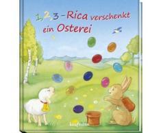 Buch mit Papp-Einband »1, 2, 3 - Rica verschenkt ein Osterei«
