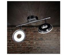 Licht-Trend Deckenleuchte »Sempre Due / LED-2er Spot drehbar / Chrom«