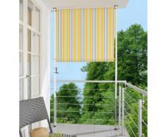 Angerer Freizeitmöbel Balkonsichtschutz »Polyacryl, gelb/grau« in 2 Breiten