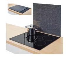 Zeller Present Herdblende-/Abdeckplatte »Granit«, anthrazit, 56 x 50 cm