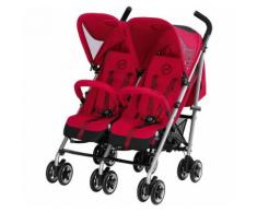 Cybex Zwillingsbuggy Twinyx B, Gold-Line, Infra Red-Red, 2017