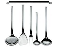 """""""6-tlg. Edelstahl Küchenleiste mit Küchenhelfer Set """"Practico"""" silber"""""""