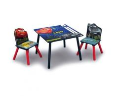 Kindersitzgruppe, 3-tlg., Cars blau/rot