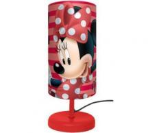 Nachttischlampe, Minnie Mouse rot