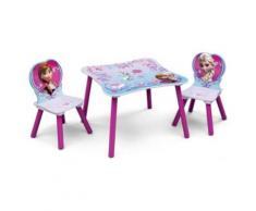 Kindersitzgruppe 3-tlg., Die Eiskönigin pink