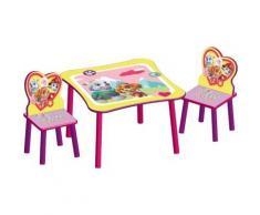 Kindersitzgruppe, 3-tlg., Paw Patrol Girl pink