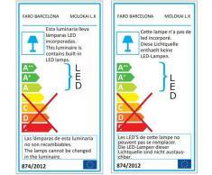 Anbauleuchte für Energiespar Deckenventilator Molokai 125 cm von Faro