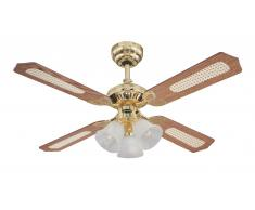 Westinghouse Deckenventilator Princess Trio Messing