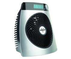 Vornado Heizlüfter iControl inklusive Fernbedienung und mobiler Tischventilator Vornado Zippi Silber
