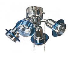 Anbauleuchte N 410 - N 417 für Deko Deckenventilator