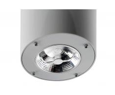 LED Anbauleuchte Deckenventilator Formentera Grau