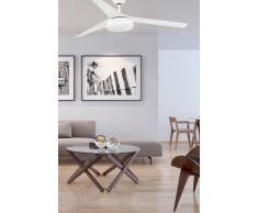 Energiespar Deckenventilator Vulcano weiß 152 cm mit LED Beleuchtung von Faro
