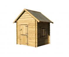 kinder spielhaus holz g nstig kaufen spielh user shop. Black Bedroom Furniture Sets. Home Design Ideas