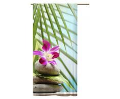 Schlaufenschal Orchidee Südsee, Schlaufenvorhang