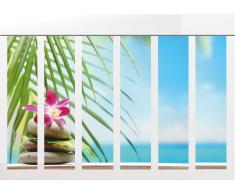 Flächenvorhang Orchidee-Serie 6er, Wellness