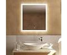Treos Serie 620 Spiegel mit LED-Beleuchtung B: 65 H: 70 T: 4,1 cm 620.06.6570, EEK: A+