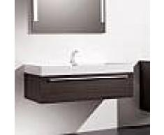 Treos Serie 900 Waschtischunterschrank B: 124,5 H: 40 T: 51,5 cm eiche dunkel 900.05.1253