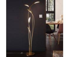 Wofi Hampton LED Stehleuchte mit Dimmer Ø 56,5 H: 151,5 cm, gold matt 3326.05.15.5000, EEK: A+