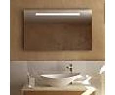 Treos Serie 610 Spiegel mit LED-Beleuchtung B: 100 H: 60 T: 4,1 cm 610.06.8100, EEK: A+