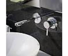 Treos Serie 190 2-Loch-Wand-Waschtischarmatur Ausladung: 160 mm 190.01.1800