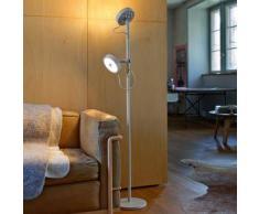 belux u-turn-12 LED Stehleuchte Lesearm mit Dimmer Ø 23.1 H: 133.5cm, telegrau UTN12-13-TD-8027, EEK: A+