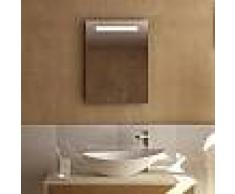 Treos Serie 610 Spiegel mit LED-Beleuchtung B: 45 H: 60 T: 4,1 cm 610.06.4560, EEK: A+