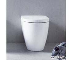 Duravit ME by Starck Stand-Tiefspül-WC back to wall weiß 2169090000