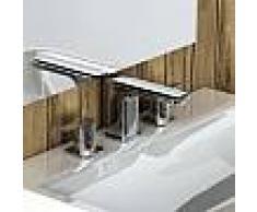 Treos Serie 193 3-Loch-Waschtischarmatur mit Ablaufgarnitur 193.01.2000