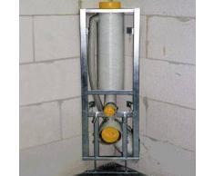 Missel Kompakt-Spülrohr MSR 6 Liter für Wand-WC, Bauhöhe 960 mm DN 100 288-0100